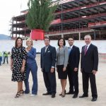 The Hospitals of Providence Topping Out Ceremony